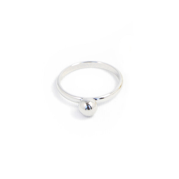 Biko Silver Dot Ring