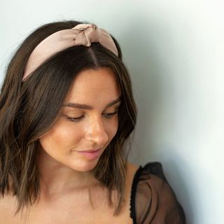 Femme Faire | Luxe Knotted Headband - Blush