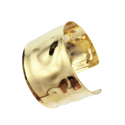 Biko Liquid Cuff - Gold