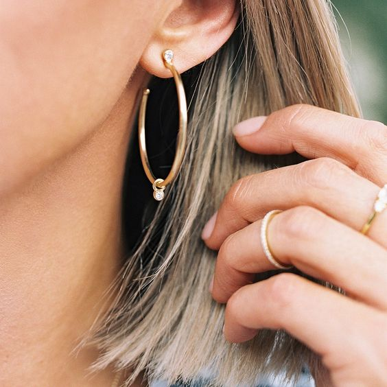 Leah Alexandra | Adrienne Hoops - Small