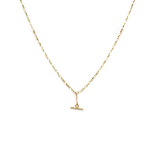 Leah Alexandra | Albert Mini Necklace - Goldfill