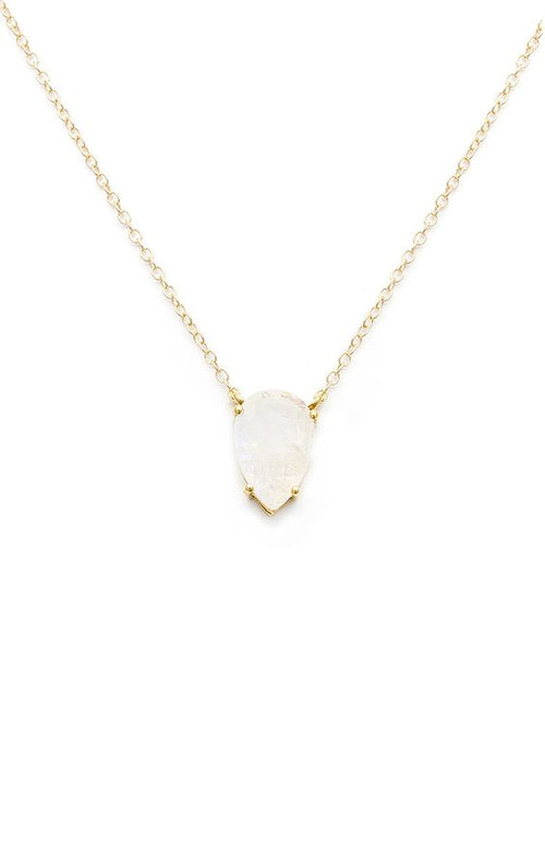 Leah Alexandra Moonstone Asana Necklace