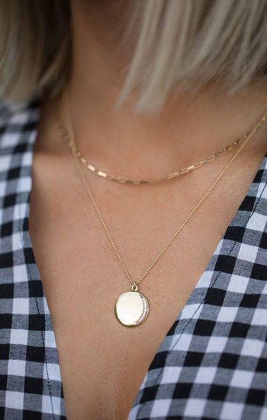 Leah Alexandra | The Eclipse Necklace