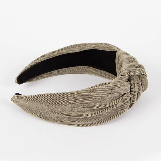Femme Faire | Textured Knit Headband - Olive