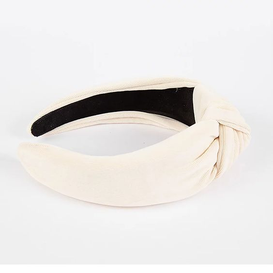 Femme Faire | Textured Knit Headband - Ivory