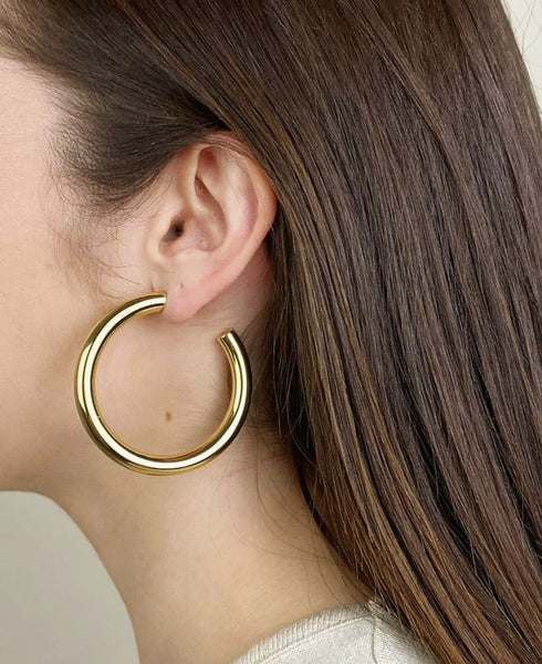 Machete - Perfect Gold Hoops
