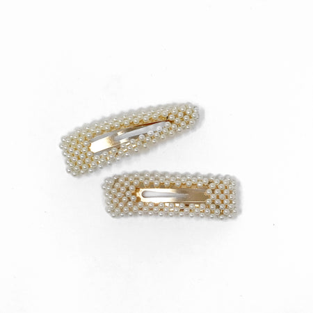 Barrettes- Gold Foil