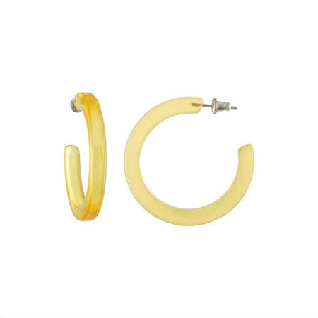 "Machete | 1.5"" Twist Hoops - Gold"