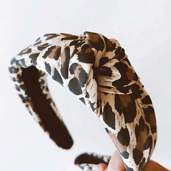 Femme Faire | Knotted Headband - Leopard