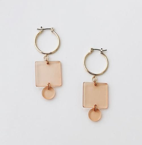Sundara Mar | Mel Hoops - Blush