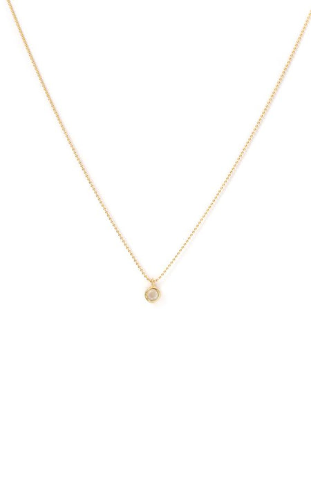 Leah Alexandra | Asana Necklace - Moonstone