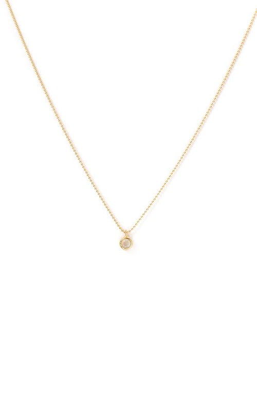 Leah Alexandra | Minor Necklace - Moonstone