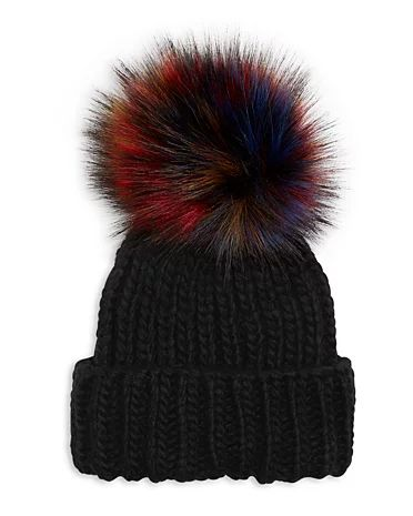 Kyi Kyi | Fold it up Beanie - Multi Faux Fur