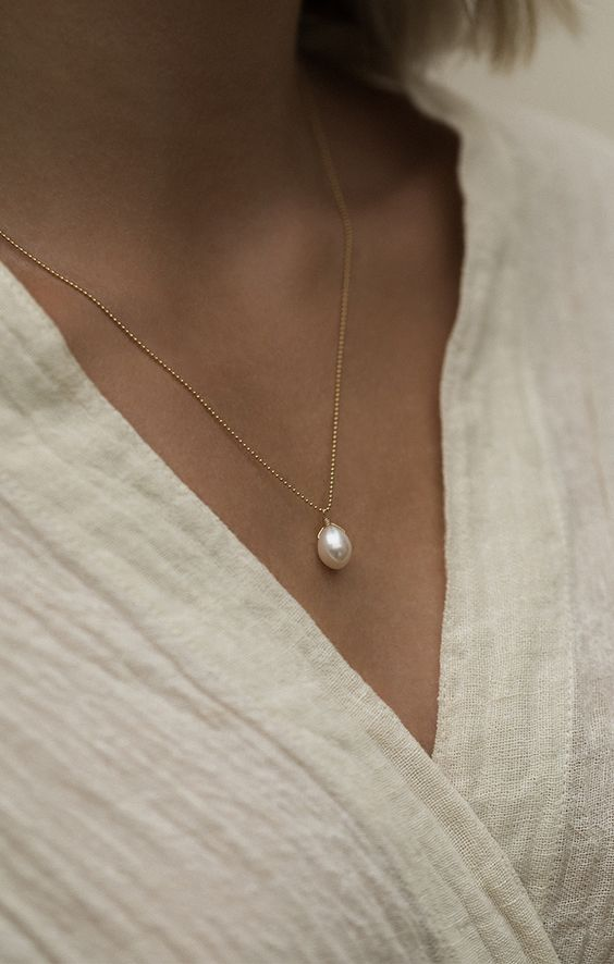 Leah Alexandra Pearl Necklace