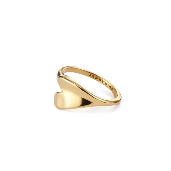 Biko Wave Ring - Gold