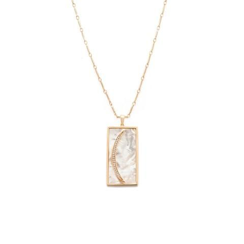 Melanie Auld | Siren Pendant - Mother of Pearl