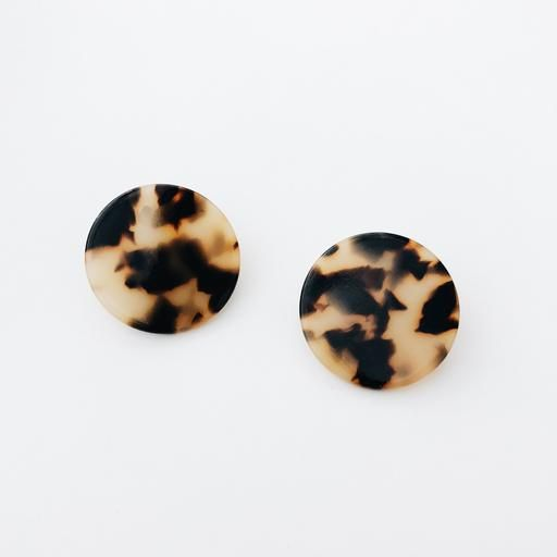 Sundara Mar | Daphne Earrings - Desert Tortoise