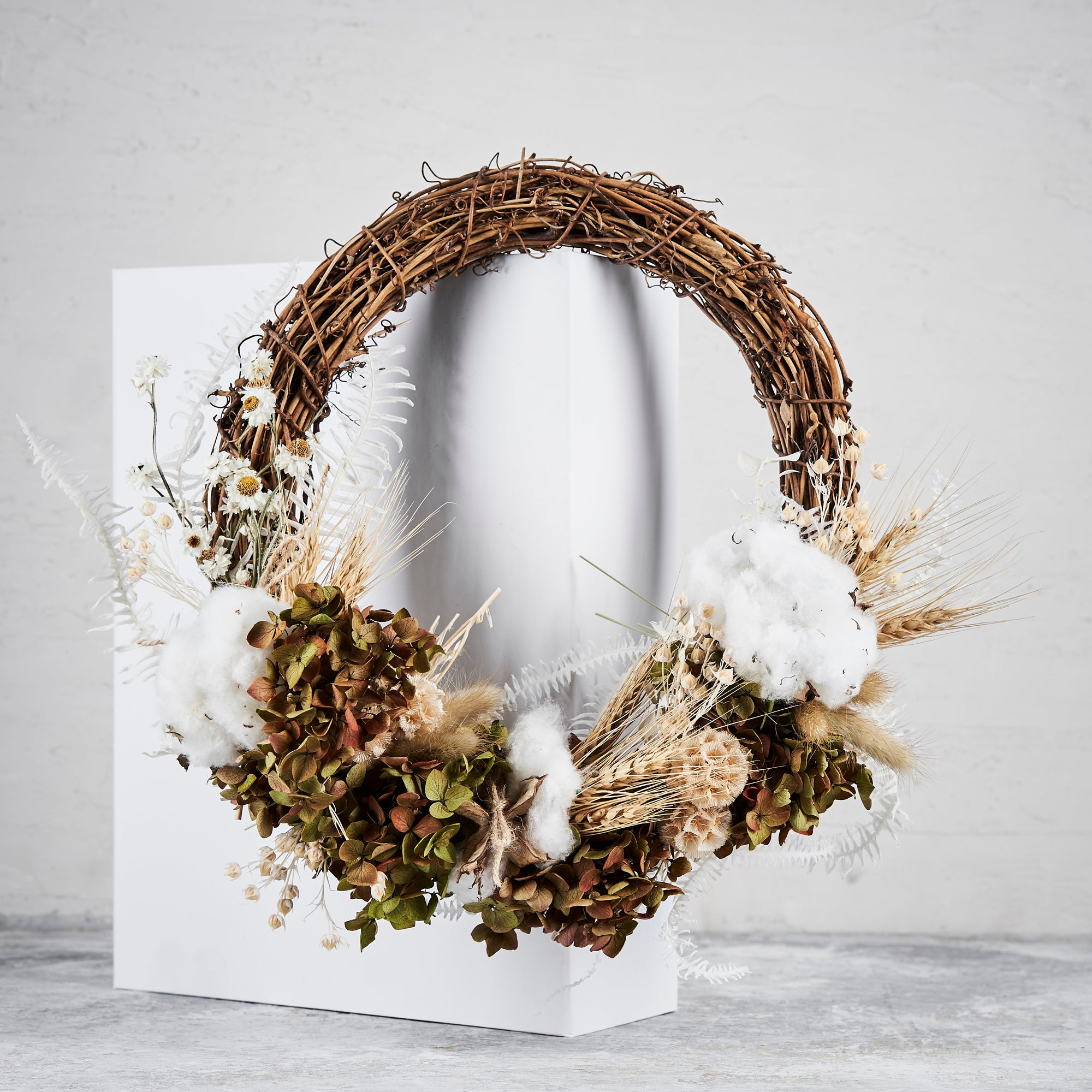 Cotton Wreath Pre-order