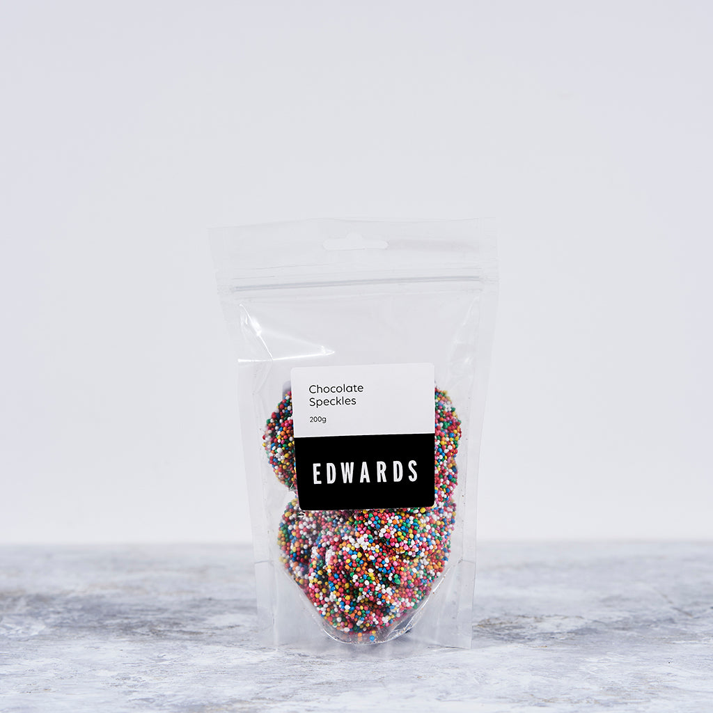 Chocolate Speckles Freckles Bendigo Lollies