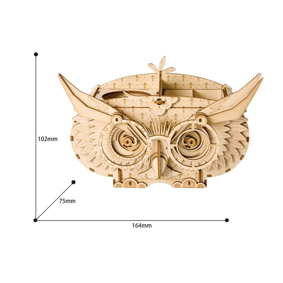 Owl Storage Box