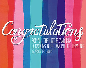 Congratulations Greeting Assortment Boxed Cards
