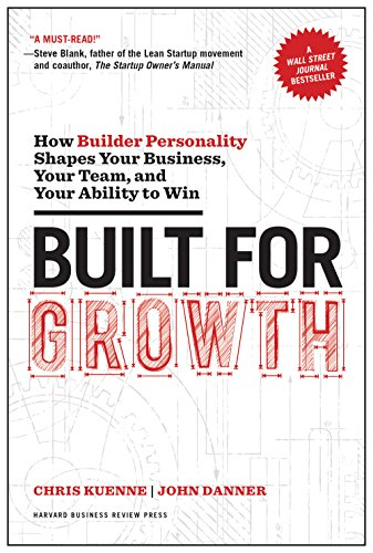 Built for Growth: How Builder Personality Shapes Your Business, Your Team, and Your Ability to Win by Chris Kuenne