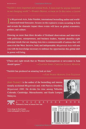 Megatrends Asia: Eight Asian Megatrends That Are Reshaping Our World Hardcover by John Naisbitt