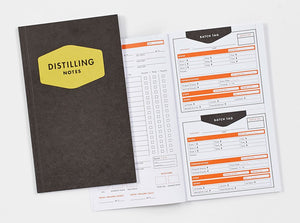 The Kings County Distillery: Tasting and Distilling Logbook - Whiskey Notes