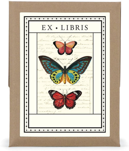 Ex Libris (Bookplate) - Butterfly