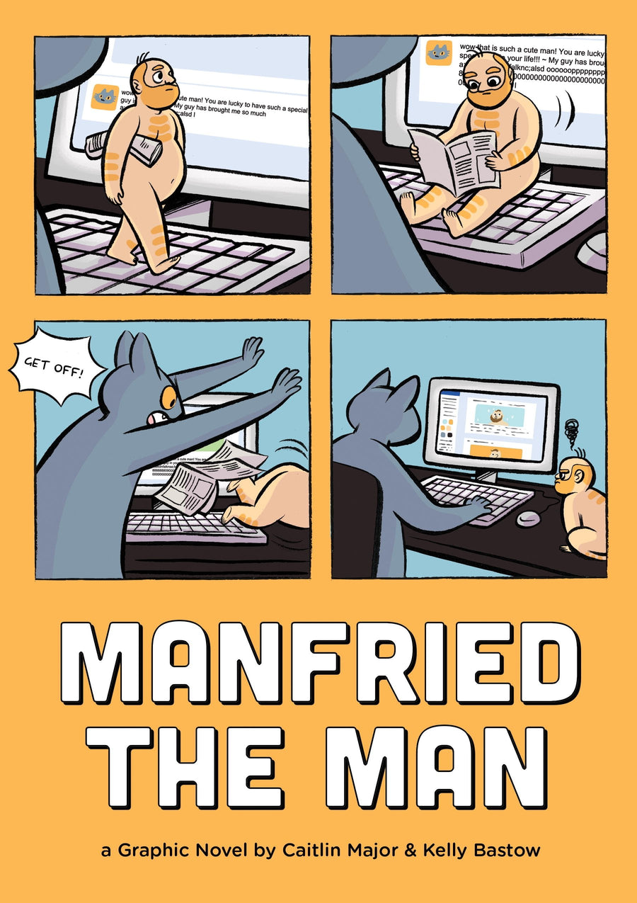 Manfried the Man: A Graphic Novel by Caitlin Major and Kelly Bastow