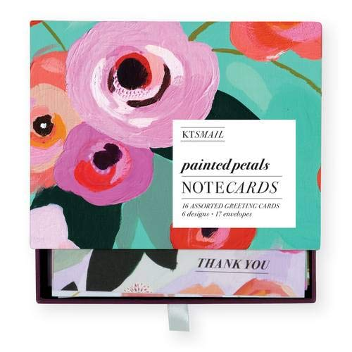 Painted Petals Greeting Card Assortment
