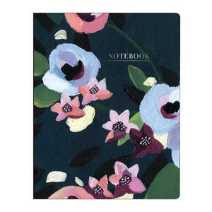 Painted Petals Deluxe Spiral Notebook