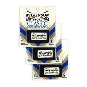 Wilkinson Sword Classic Double Edge Safety Razor Blades 3 Packs