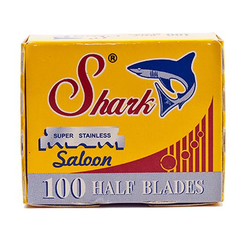 Shark 1/2 Blades for Barber Razors - 100 Pack (Straight Razor Blades)