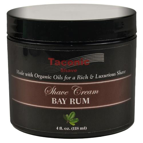 Taconic Shave Shave Cream Bay Rum