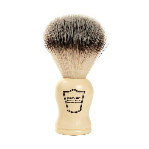 Faux Ivory Synthetic Bristle Brush