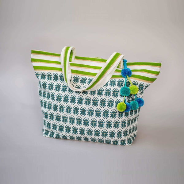 SCARAB BEACH BAG