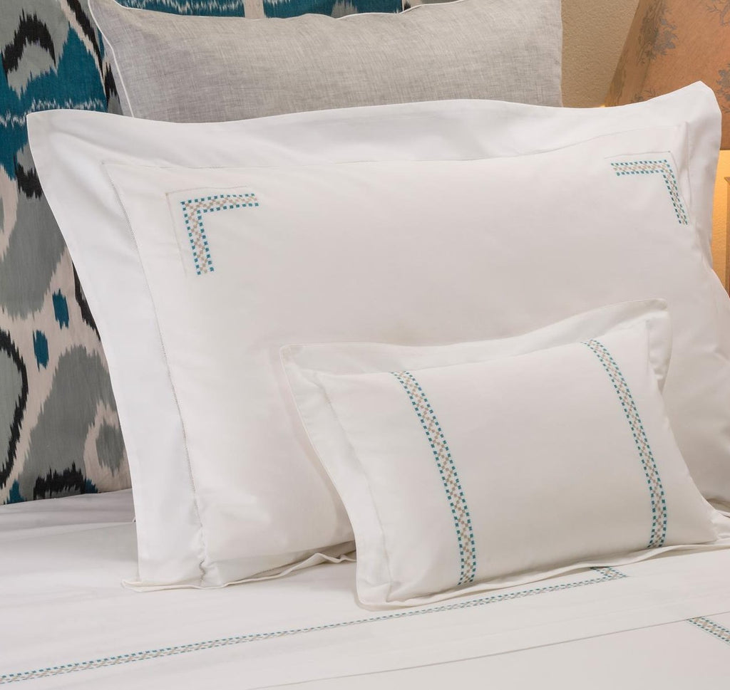 JERUSALEM BEDDING Bedding bed-linen-size-chart-cm-inches, care-guide-delicate-40, Hand Embroidered