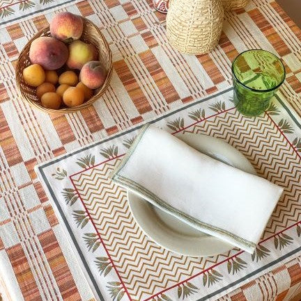 THE ZIGZAG PLACEMATS