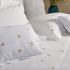 BEE Bedding bed-linen-size-chart-cm-inches, care-guide-delicate-40, Hand Embroidered, weit
