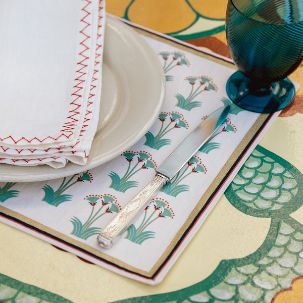NILE LOTUS PLACEMATS