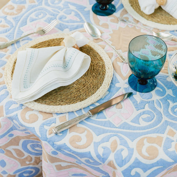 KHAYAMIYA TABLE CLOTH tablecloth hand_crafted, new_product, no_price, sampler, table, Variant Photos missing, winter