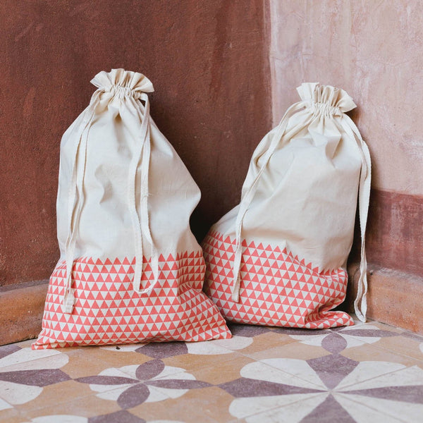 ADULT BOOT BAG (Set of Two) Bags bag, care-guide-delicate-40-no-wash-before-use, discount-20, Hand Printed, travel