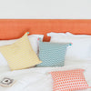 ZIG ZAG CUSHION COVER Cushion care-guide-delicate-30-no-tumble-dry, discount-20, Hand Printed, Variant Photos missing