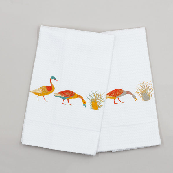 DUCKLING KITCHEN TOWEL (SET OF TWO) Towel care-guide-normal-60, EasterCollection, Hand Printed, Moodphoto missing, no_sale_item