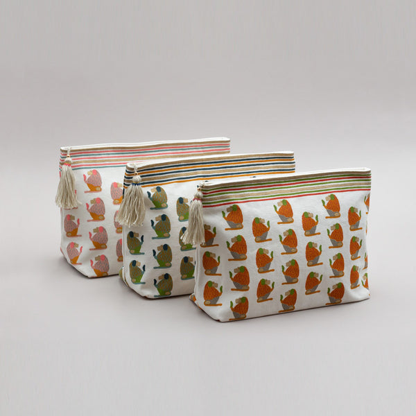 BABOON TOILETRY BAG