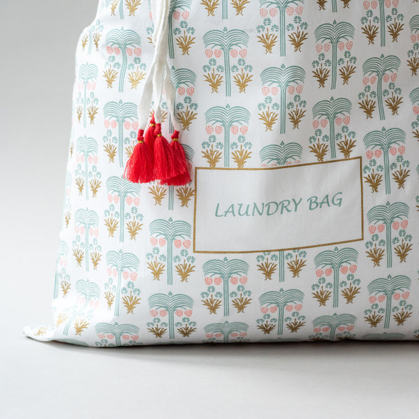 OASIS LAUNDRY SORTING BAG Bags bag, care-guide-delicate-40-no-wash-before-use, Hand Printed, laundry, Moodphoto missing