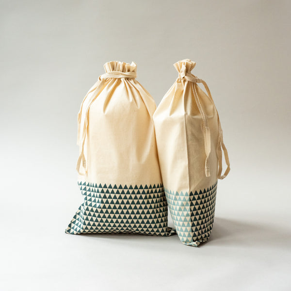 ADULT BOOT BAG (Set of Two) Bags bag, care-guide-delicate-40-no-wash-before-use, Hand Printed, travel