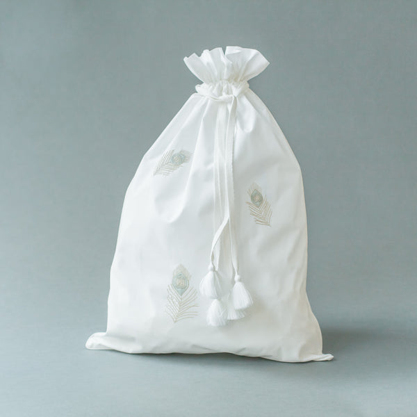 FARIDA LAUNDRY BAG Bags bag, bath, care-guide-delicate-40-no-wash-before-use, Hand Embroidered, travel