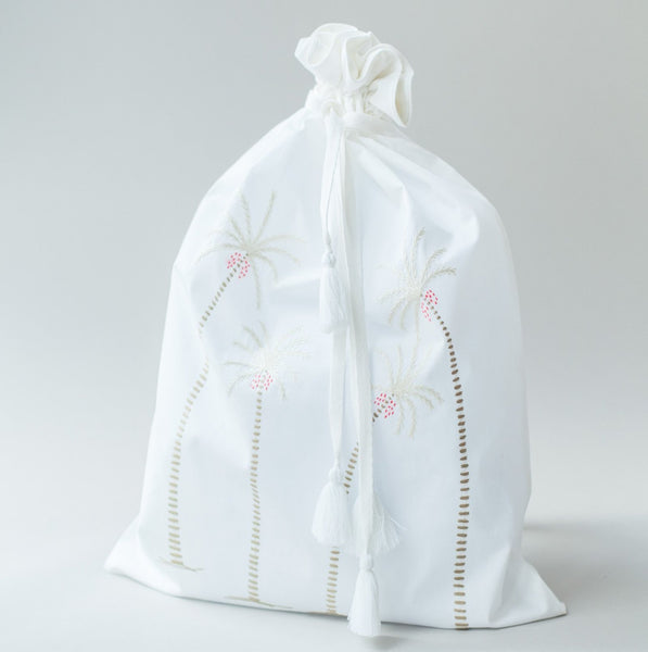 PALM TREE TRAVEL BAG Bags bag, care-guide-delicate-40-no-wash-before-use, Hand Embroidered, Moodphoto missing, travel